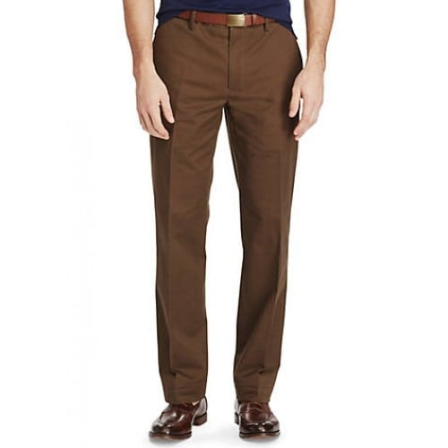 8984bf9ed3a2 Shop Polo Ralph Lauren Men s Big Tall Classic-Fit Pants Brown Size 38