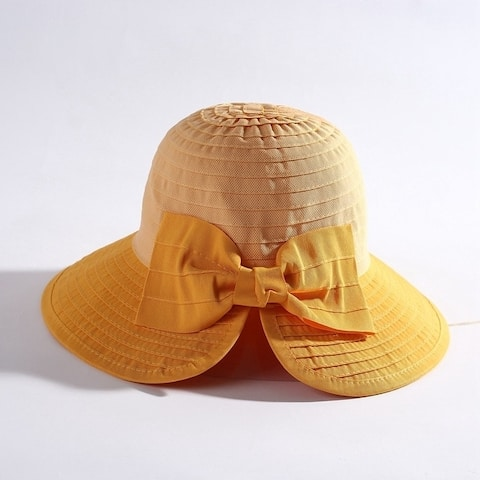 All-Match Peach Heart Foldable Sunscreen Sun Hat