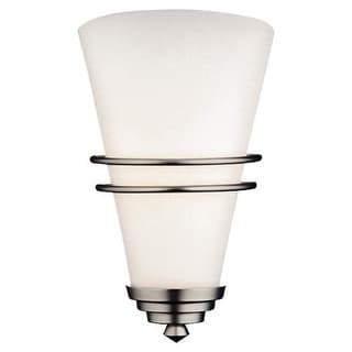 """Forecast Lighting F106516 1 Light ADA Compliant 7.5"""" Wide Wall Sconce from the Niles Collection"""