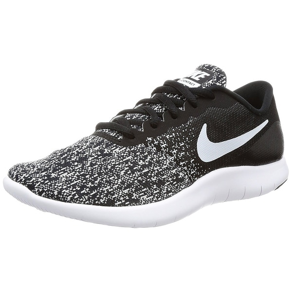 Nike Women's Flex Contact Black/White Running Shoe Women