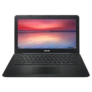 """Manufacturer Refurbished - Asus C300SA-DH02 13.3"""" Laptop Intel Celeron N3060 1.6GHz 4GB 16GB Chrome OS"""