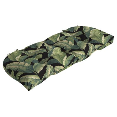 Arden Selections Onyx Cebu Wicker Settee Cushion - 18 in L x 41.5 in W x 5 in H