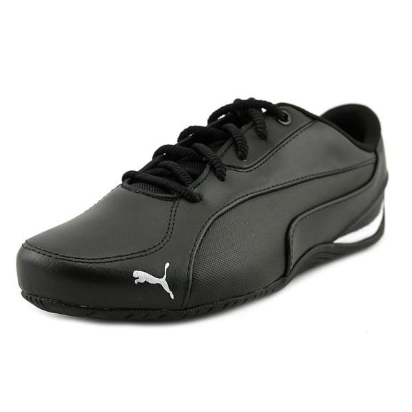 10c7f9283a9 Shop Puma Drift Cat 5 Core Women Round Toe Canvas Black Sneakers ...
