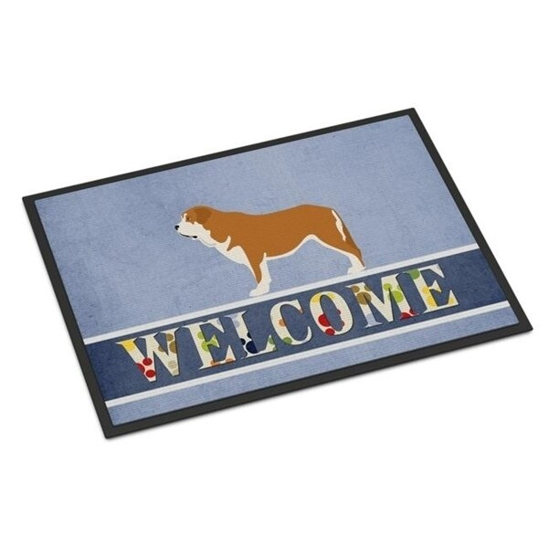 Carolines Treasures BB8349MAT Mastin Epanol Spanish Mastiff Indoor or Outdoor Mat - 18 x 27 in.