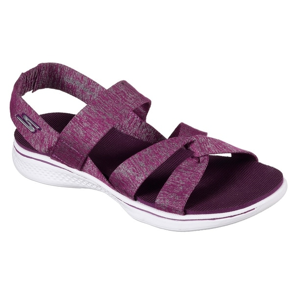 Skechers 14682 PUR Women's H2 GOGA-BOUNTIFUL Sandal