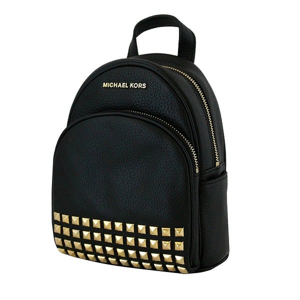 a39b8e191710 Shop Michael Kors Abbey Extra Small Studded Backpack In Black - Free ...