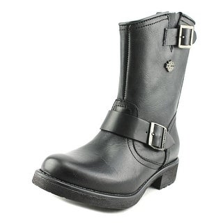 Harley Davidson Halsey Round Toe Leather Boot