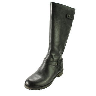 Naturalizer Womens Tanita Leather Knee-High Riding Boots