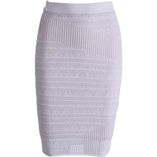 Rachel Rachel Roy Womens Lace Lined Pencil Skirt