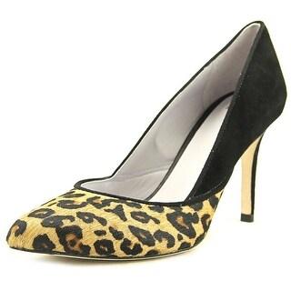 Johnston & Murphy Vanessa Women Pointed Toe Suede Multi Color Heels