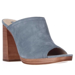 FRYE Karissa Mule Slide Heels - Blue