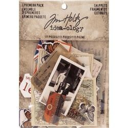 Snippets Tiny Die-Cuts - Idea-Ology Ephemera Pack 111/Pkg