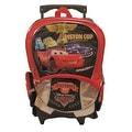 Disney Pixar Cars Large Rolling School Backpack
