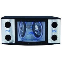 Pyle Dual 12'' 1200 Watt 2-Way Bandpass System with LED Woofer Rings
