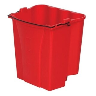 Rubbermaid Commercial Red 18 Qt Capacity Dirtywater Bucket