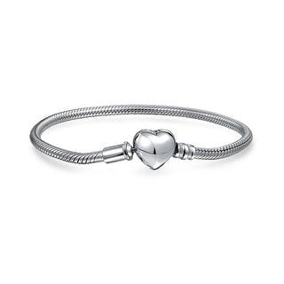 df59c714fcac7 Shop Snake Chain Starter Charm Fits European Beads Bracelet For ...