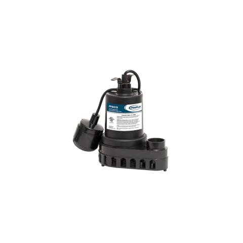 PROFLO PF92370 1/3 HP Thermoplastic Sump Pump with Tethered Switch -
