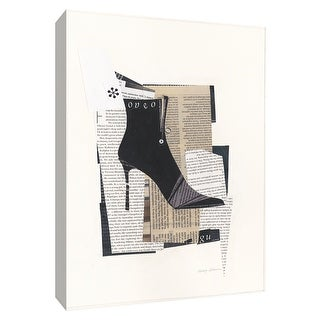 "PTM Images 9-154755  PTM Canvas Collection 10"" x 8"" - ""Step It Up I"" Giclee Shoes Art Print on Canvas"
