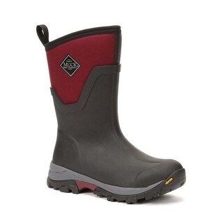 Muck Boot Women's Arctic Ice Mid Red Size 6 Performance Winter Boots