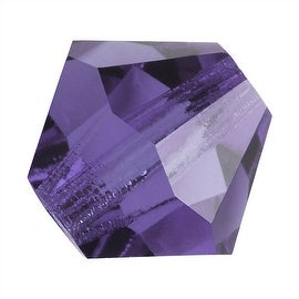 Preciosa Czech Crystal 4mm Bicone Beads 'Tanzanite' (50)