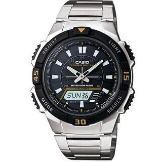 Casio Aqs800wd-1Ev Analog/Digital Tough Solar-Powered Sports Chronograph Wrist Watch