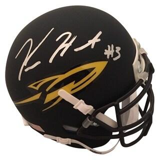 Kareem Hunt Autographed University of Toledo Signed Football Mini Helmet JSA COA