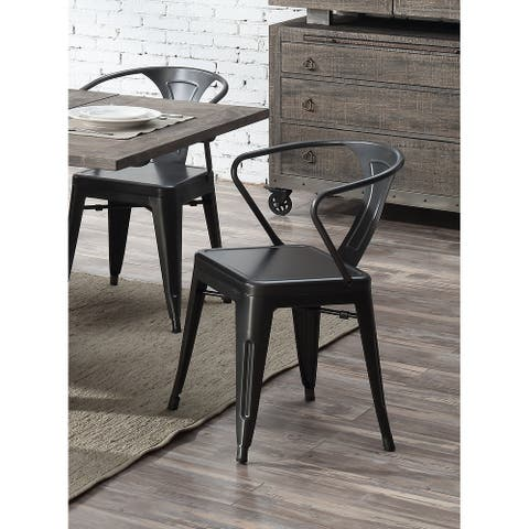 Carbon Loft Uglem Industrial Dining Chair (Set of 2)