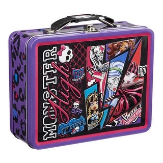 Monster High Metal Tin Lunch Box Forever