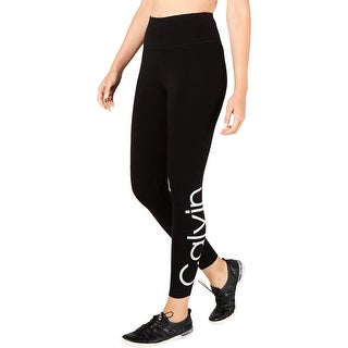 Link to Calvin Klein Performance Womens Athletic Leggings Fitness Yoga - Black Similar Items in Athletic Clothing