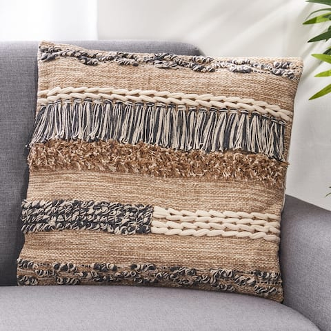 Anntana Hand-Loomed Boho Pillow Cover by Christopher Knight Home