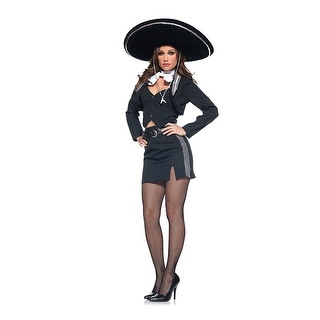 Mexican Spanish Senorita Girl Costume Adult Large,Medium,Small,X-Large