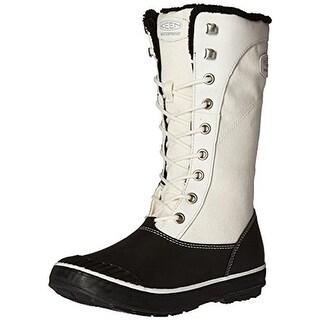Keen Womens Elsa Winter Boots Leather Colorblock - 5 medium (b,m)