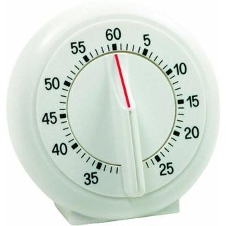 Norpro 1470 60 Minutes Single Ring Timer, White