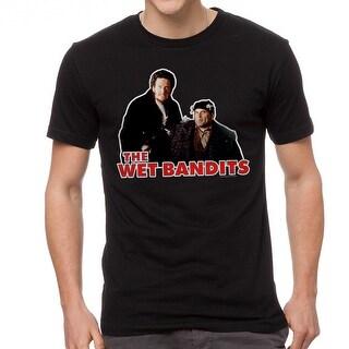 Home Alone The Wet Bandits Men's Black T-shirt