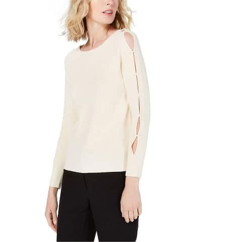 Anne Klein Womens Knit Pullover Sweater