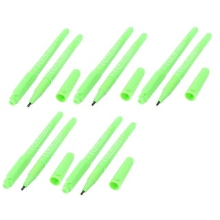 10 PCS Light Green Ink Tips Permanent Paint Marker Pen
