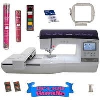 Brother Innov-is BP1400E Embroidery Machine With Bonus Bundle