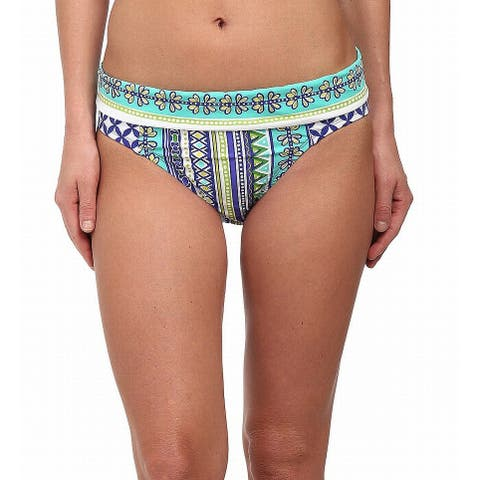 Bleu Rod Beattie Blue Womens Size 12 Hipster Swim Bikini Bottom