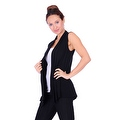 Simply Ravishing Women's Basic Sleeveless Open Cardigan (Size: Small-5X) - Thumbnail 4