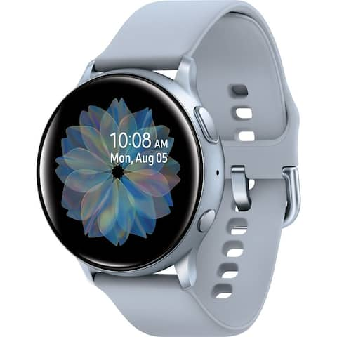 SamsungGalaxy Active 2 Smart Watch (GPS) 44mm Aluminum Case, Cloud Silver(Certified Refurbished)
