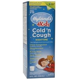 Hyland's Nighttime Cold 'N Cough 4 Kids 4 oz