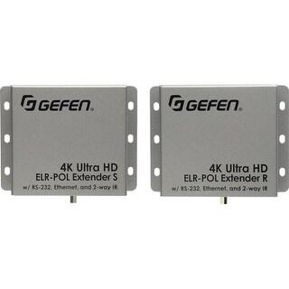 """Gefen EXT-UHD-CAT5-ELRPOL Gefen Video Console/Extender - 1 Input Device - 1 Output Device - 495 ft Range - 4 x Network (RJ-45)"