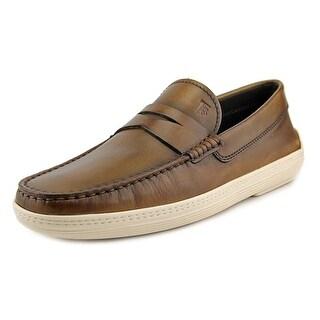 Tod's Mocassino Marlin Hyannisport Moc Toe Leather Loafer