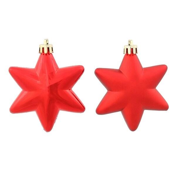 2'' Red Stars Asst 36/Box