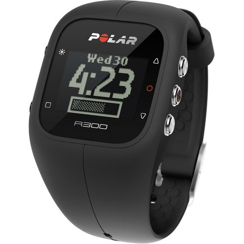 Refurbished A300 Black HRM Fitness and Activity Monitor With H7 Heart Rate Monitor
