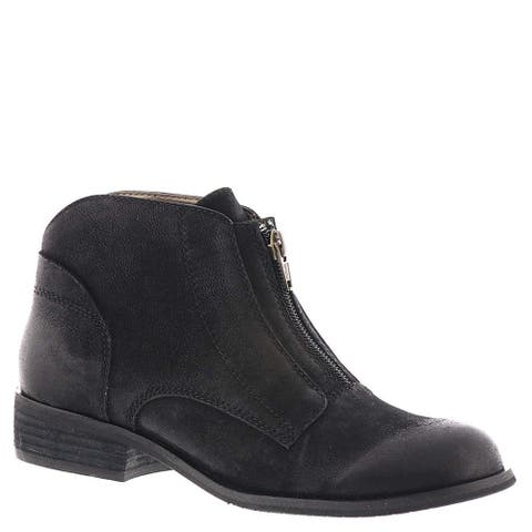 ARRAY Womens Luna Leather Closed Toe Ankle Fashion Boots