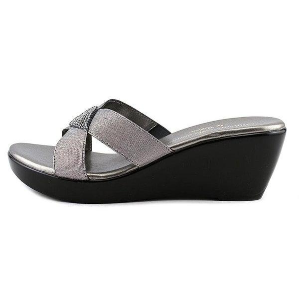 Athena Alexander Womens Keelin Open Toe Casual Slide Sandals