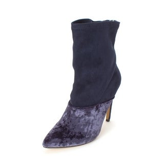 Michael Antonio Womens Odale Velvet Pointed Toe Ankle Fashion Boots - 9