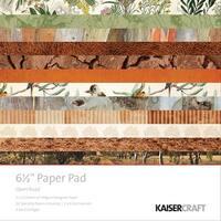 """Kaisercraft Paper Pad 6.5""""X6.5"""" 40/Pkg-Open Road"""