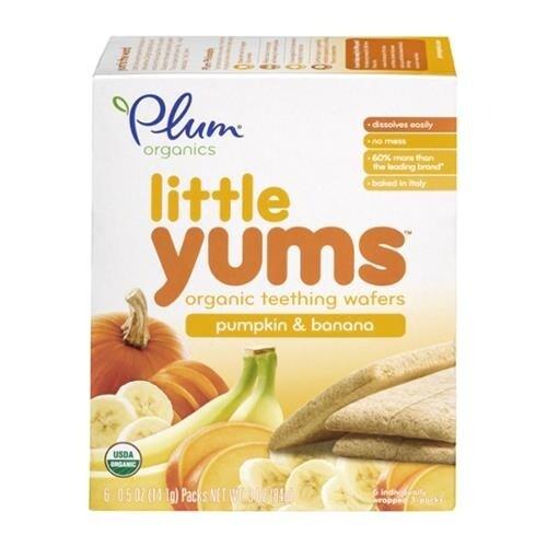 Plum Organics - Pumpkin Banana Little Yums ( 36 - 3 OZ)